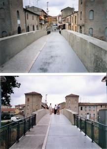 Progetto generale di sistemazione di via Garibaldi e del ponte sul Volano a Migliarino-Fe. (1997)