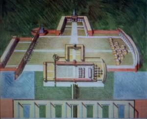 Progetto di massima ed esecutivo per l'ampliamento del Cimitero di San Nicolò (superficie di intervento mq.6000) , per il Comune di Argenta  (FE).(1995)