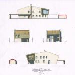 Studio di fattibilità per la ristrutturazione di edificio ad uso residenziale, a Ferrara. (2015)