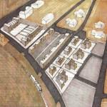 Progetto per la redazione di un Piano Particolareggiato di Iniziativa Pubblica sull'area di proprietà comunale del campo sportivo di via C.Battisti a Migliarino – FE.(1995)