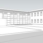 Progetto definitivo ed esecutivo per il recupero dell'ex Convento di S. Lucia in Ferrara da adibire a studentato per110 posti, per la Università degli Studi di Ferrara. (2002)