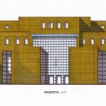 Progetto esecutivo del nuovo polo ospedaliero del basso ferrarese. (1996/98)