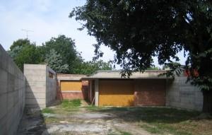 Progetto preliminare e definitivo per il recupero di immobile di mq. 140 da adibire a residenza unifamiliare. Foto cantiere (2007)