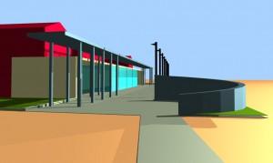 Studio di fattibilità di edificio polifunzionale a Masi Torello (FE). (2005)
