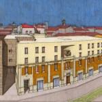 Progetto definitivo di recupero ed ampliamento di Palazzo Panfilio, in Ferrara C.so Isonzo. (1999)