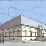 """Progetto preliminare per il recupero e l'ampliamento di edifico denominato """"Poliambulanza"""" da adibire a residenza protetta per anziani in Ferrara. (2000)"""