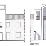 Progetto per il recupero di ex opificio da adibire a residenze a Serravalle - Fe. (2004)