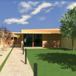 Progetto preliminare e definitivo per il recupero di immobile di mq. 140 da adibire a residenza unifamiliare , a Ferrara , per committenza privata. (2007)