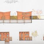 Studio di fattibilità per complesso immobiliare a destinazione residenziale a Ferrara. (2008)