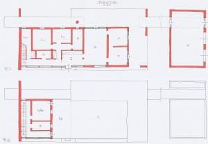 Studio di fattibilità per la realizzazione di immobile da adibire a residenza unifamiliare+ , a Vigarano Mainarda - Fe. (2009)