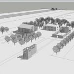 Studio di fattibilità per il recupero di corte rurale all'interno del Parco Bassani a Ferrara. (2010)