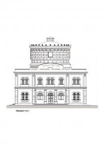 Progetto e Direzione lavori per il restauro della Centrale di potabilizzazione di Ro (FE), palazzina servizi e torre acquedotto. (2011)
