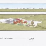 Progetto preliminare per la partecipazione al bando del Comune di Ferrara per l'ammissione al 1° POC: area a San Martino (FE). (2011)