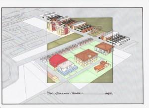 Progetto preliminare per la partecipazione al bando del Comune di Ferrara per l'ammissione al 1° POC di area consolidata e urbanizzabile, a Ferrara loc. Porotto (2011)