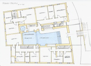 Studio di fattibilità per il recupero del Borgo Nogareto sull'Appennino Bolognese. (2001)