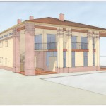 Studio di fattibilità per ampliamento di edificio rurale ad uso residenziale, a Quartesana - Fe. (2010)