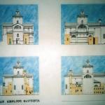 Progetto di massima per il restauro e recupero della Chiesa di San Giovanni Battista a Ferrara da adibire ad auditorio e centro di ricerca per musica sperimentale. (1992)