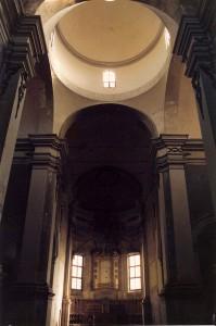 """Coordinatore per il rilievo della """"Chiesa di San Giovanni Battista"""" a Ferrara. (1991)"""