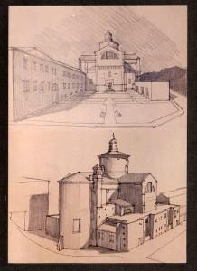 Studio di fattibilità per il recupero della chiesa di San Giovanni Battista a Ferrara da adibire a sala polifunzionale. (1998)