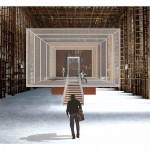 """Auditorium Conservatorio """"G. Frescobaldi"""" Ferrara - Studio aula didattica (2014)"""