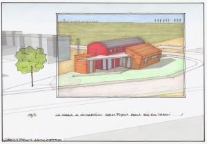 Progetto definitivo per la costruzione di una casa monofamiliare a San Martino (FE). (2011)