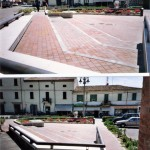 Progetto definitivo ed esecutivo per la sistemazione  di piazza della Repubblica a Migliarino, per il Comune di Migliarino (Fe). (1999)