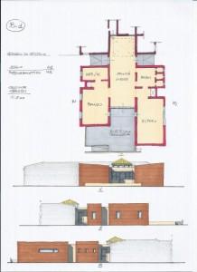 Progetto di ristrutturazione e ampliamento dell'asilo nido e scuola materna del Comune di Poggiorenatico (FE). (2013)