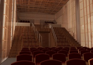 """Recupero Auditorium Conservatorio """"G. Frescobaldi"""" Ferrara - Studio (2015)"""